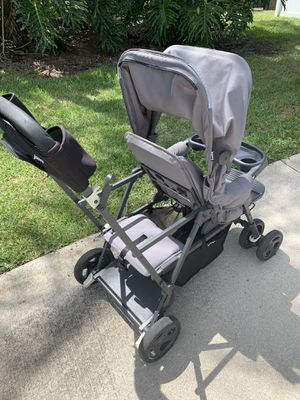 Joovy Caboose Ultralight Double Stroller - Great Condition for Sale in Clearwater, FL