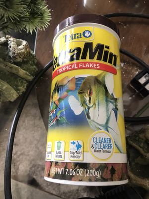 Fish food and fish tank accessories for Sale in Goodyear, AZ