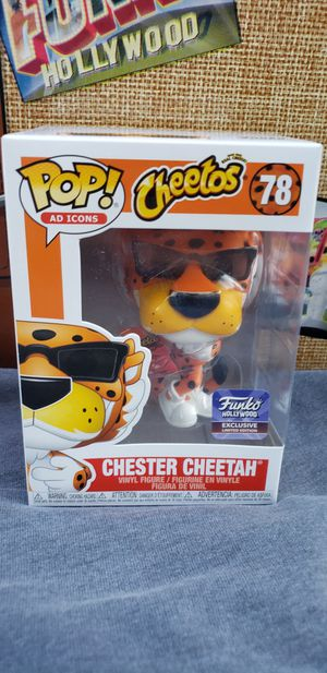 Funko pop Chester Cheetah Hollywood HQ Grand Opening exclusive for Sale in South El Monte, CA