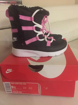 NEW must go tonight/tomorrow Nike Toddler Boots for Sale in Redmond, WA