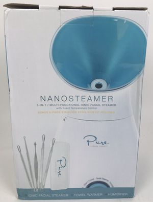 New NanoSteamer Large 3-in-1 Nano Ionic Facial Steamer with Precise Temp Control (Tarpon Springs) for Sale in Tarpon Springs, FL