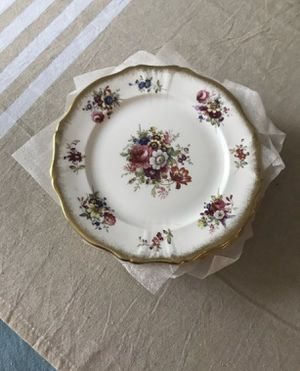 Floral Antique Plates- Bone China for Sale in Bothell, WA