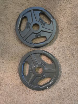 25lb Olympic weight plates for Sale in Lacey, WA
