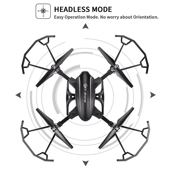 Foldable Drone X34 Wi Fi Fpv Quadcopter With Hd Camera Live Video
