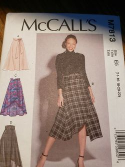 McCall's M7813 Misses Skirts Sewing Pattern for Sale in Sanford,  FL