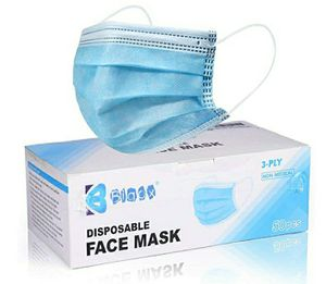 Disposable face masks 50 count for Sale in Westminster, CA