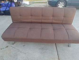 Multifunction Fabric Futon In Brown for Sale in Charlotte,  NC