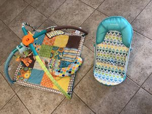 Infant play mat and baby bath NEW for Sale in Sarasota, FL