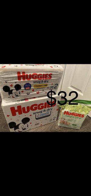 Huggies size 2 bundle for Sale in Lawrenceville, GA