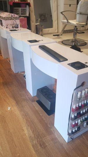Manicure station & front desk for Sale in North Bergen, NJ