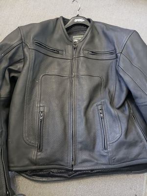 Frank Thomas leather motorcycle jacket for Sale in Miami, FL