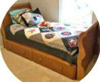 Twin size bed with Trundle for Sale in Lake Forest, CA