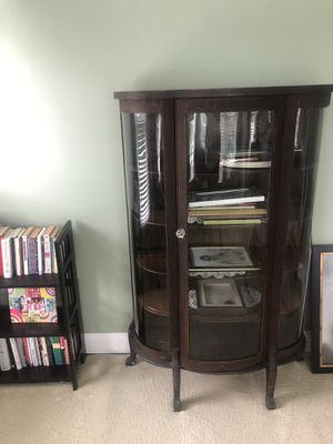 Antique display cabinet (moving out sale) for Sale in Vienna, VA