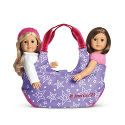 TWO-DOLL TOTE FOR GIRLS (Authentic American Girl Doll Accessorie) for Sale in South San Francisco,  CA