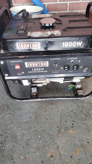 Generator 1800w for Sale in Tampa, FL