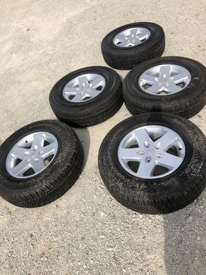 Jeep OEM wheels & tires for Sale in Collinsville, IL