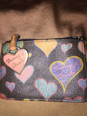DOONEY & BOURKE KEY CHAIN COIN PURSE for Sale in Claremont, CA