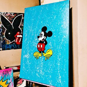 Mickey Mouse 24x36 inch painting for Sale in Miami, FL