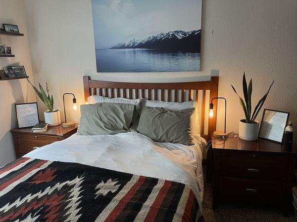 Wood Bedside Tables/End Tables