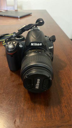 Nikon D3000 camera for Sale in Riverside, CA