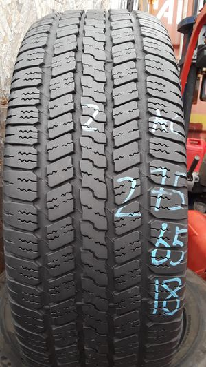 275/65-18 #2 tires for Sale in Alexandria, VA