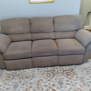 Lazy Boy Recling Couch And Two Chairs for Sale in McDonough, GA