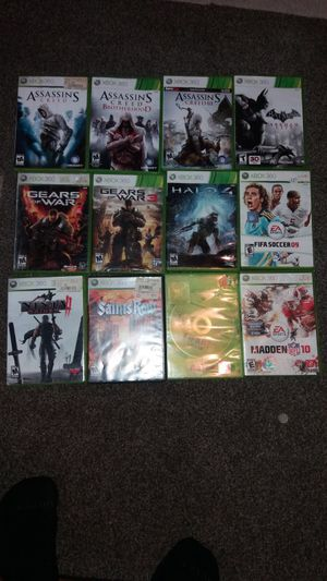 I sell Xbox 360 games for Sale in Tampa, FL