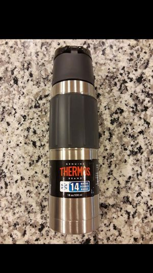 Thermos Vacuum Insulated 18 oz. Stainless Steel Hydration Bottle for Sale in Rockville, MD