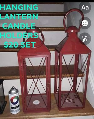 Hanging Lantern candle holders for Sale in Petersburg, VA