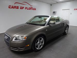 2007 Audi A4 Convertible for Sale in Lakeland, FL