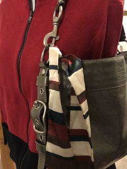 Coach Shoulder Bag Pewter for Sale in Laurel,  MD