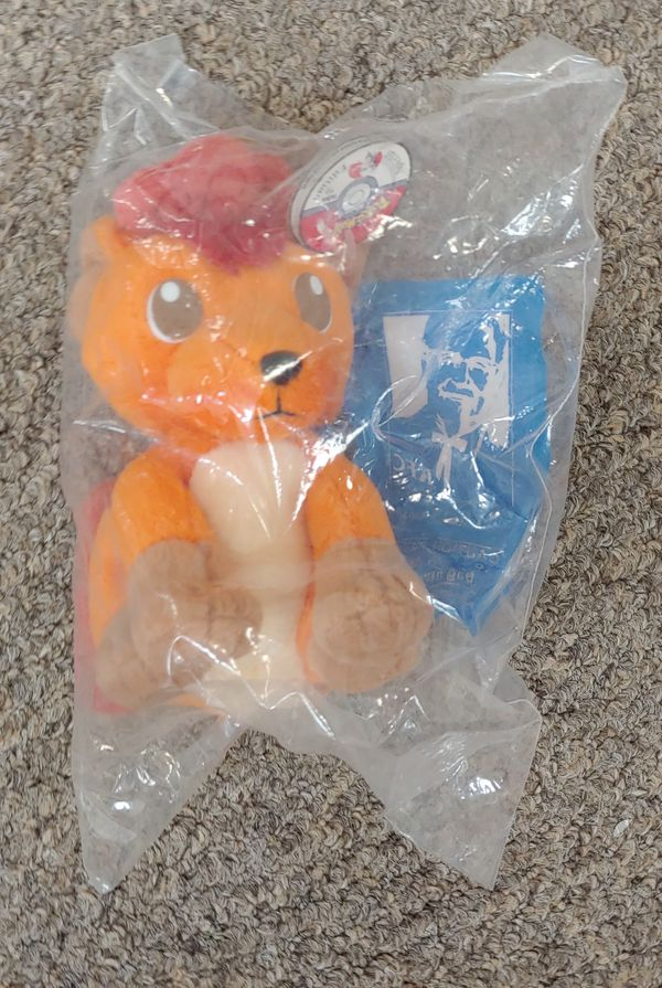 Vintage Pokemon Beanie Baby New In The Package