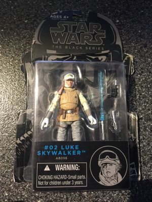 Luke Skywalker Wampa Attack 3.75 Inch Action Figure empire strikes back Star Wars The Black Series Hoth outfit collectible figure for Sale in Queens, NY