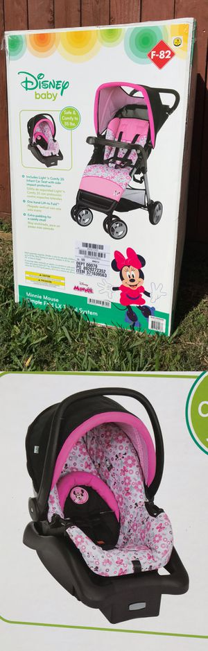 Minnie Mouse Stroller & Infant Car Seat ‼️NEW‼️ for Sale in Pearland, TX