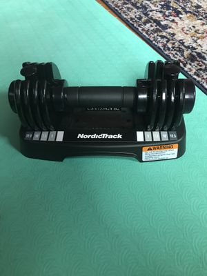 NordicTrack adjustable dumbbells (pair) for Sale in Philadelphia, PA