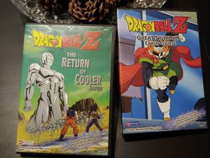 Dragon Ball Z: The Return of Cooler and Great Saiyaman Crash course (DVD Uncut) for Sale in Peoria, AZ