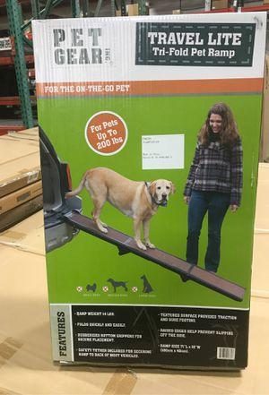 Pet Gear Travel Light Trifold Pat Ramp for Sale in Monroe, WA