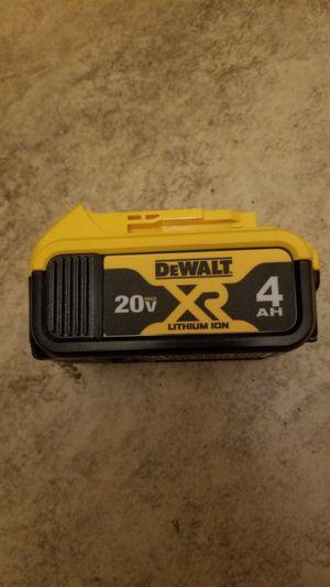 New Dewalt 20-Volt MAX XR Lithium-Ion Premium 4.0Ah Battery for Sale in Hemet, CA