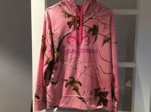 Like new woman's large real tree hoodie for Sale in Jupiter, FL