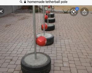 Tether ball stand for Sale in Mesa, AZ