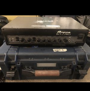 AMPEG SVT-7 Pro Bass Amp USED for Sale in Los Angeles, CA
