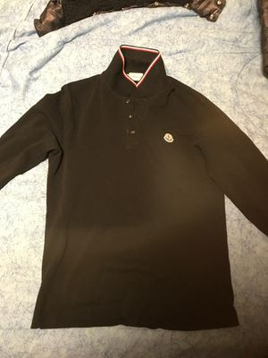 Long sleeve Moncler Shirt Excellent condition barely worn for Sale in Washington, DC