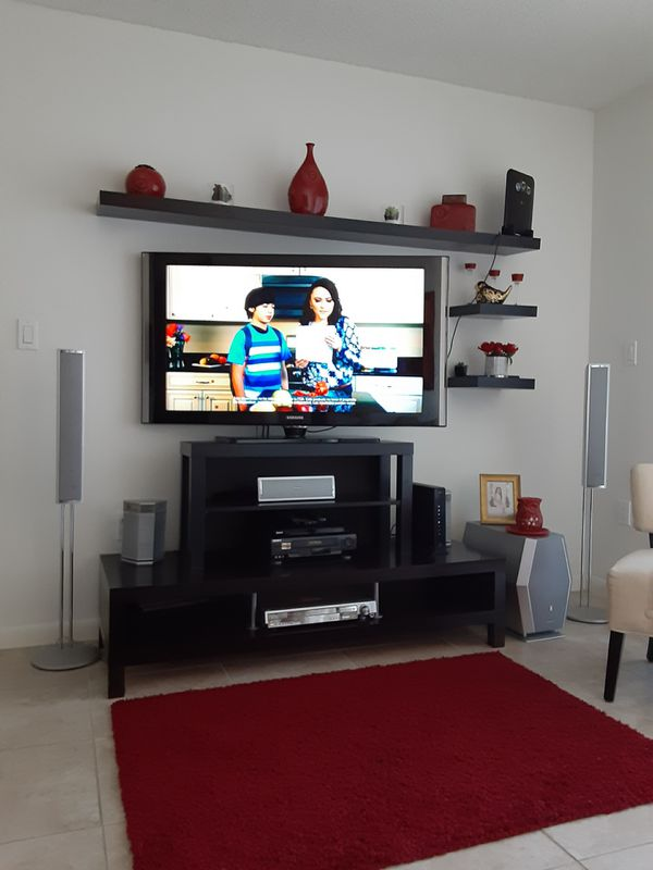 Tv stand and Shelf's