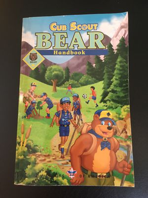 CUB SCOUTS BEAR HANDBOOK NEVER USED for Sale in Oceanside, NY
