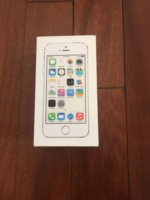 Iphone 5s Silver BOX ONLY for Sale in Leesburg, VA