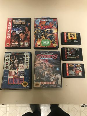 Sega games 7 rare for Sale in Woodbridge, VA