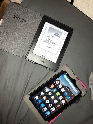 Kindle For Reading & Kindle Fire For Apps for Sale in San Francisco, CA