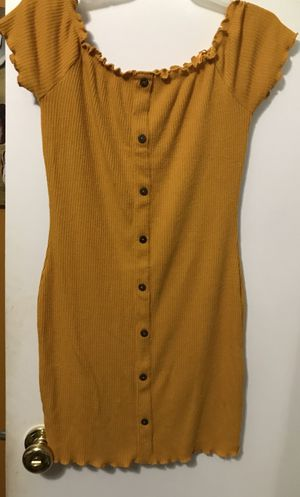 Mustard Yellow Dress Size S/M for Sale in Plantation, FL