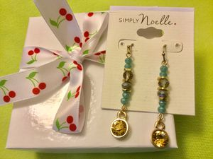 Classy & Sophisticate 🌿🌷🌿Summer fashion Crystals and beads long earrings / Also Rosary necklace and more at my store / Come Visit 🎀⛱h for Sale in Springfield, VA