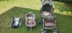 Chicco Stroller, car seat and base for Sale in Virginia Beach, VA